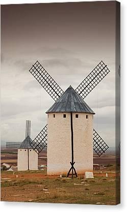 Spain, Castile-la Mancha Region, Ciudad Canvas Print by Walter Bibikow