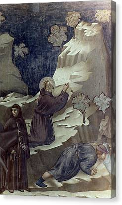 St Francis Of Assisi Canvas Print by Granger