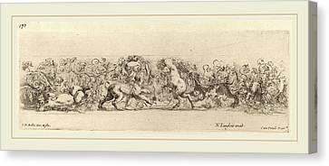 Stefano Della Bella Italian, 1610-1664 Canvas Print