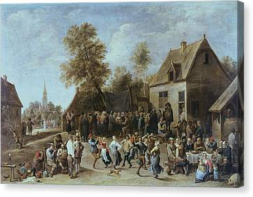 Localities Canvas Print - Teniers II, David, The Younger by Everett