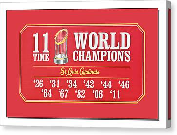 11 Time World Chapion Poster Dsc01106 Canvas Print