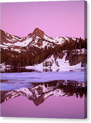 Usa, California, Sierra Nevada Canvas Print by Jaynes Gallery
