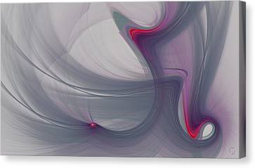 Generative Canvas Print - 1107 by Lar Matre
