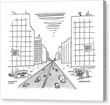 New Yorker May 15th, 2000 Canvas Print by Mick Stevens