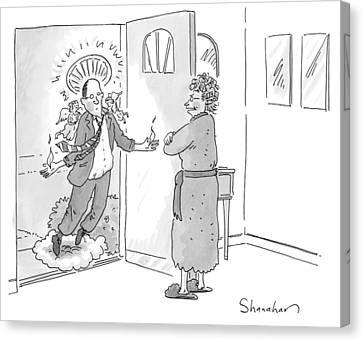 New Yorker June 1st, 2009 Canvas Print