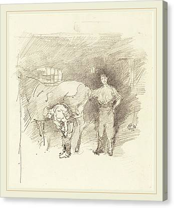 James Mcneill Whistler American, 1834-1903 Canvas Print