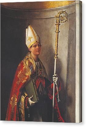 Italy, Veneto, Venice, Accademia Art Canvas Print