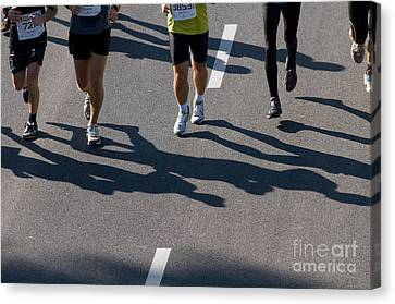 11th Poznan Marathon Canvas Print by Michal Bednarek