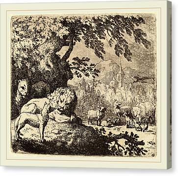 Allart Van Everdingen Dutch, 1621-1675 Canvas Print by Litz Collection