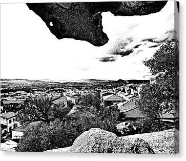 Arzachena Landscape Canvas Print