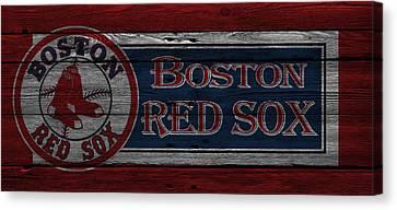 Boston Red Sox Canvas Print by Joe Hamilton