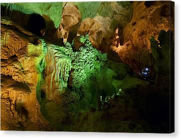 Carlsbad Cavern Canvas Print by Alexey Stiop