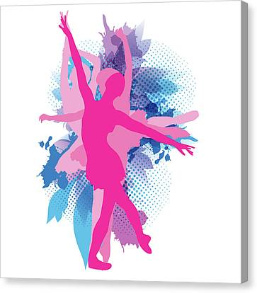 Dance And Ballet Canvas Print by Kike Calvo