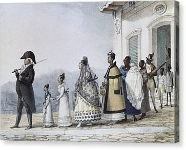 Debret, Jean Baptiste 1768-1848. A Canvas Print