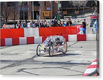 Fuel-efficient Vehicle Competition Canvas Print by Jim West