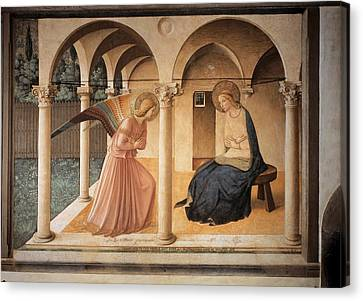 Side Porch Canvas Print - Italy, Lombardy, Milan, Refectory by Everett