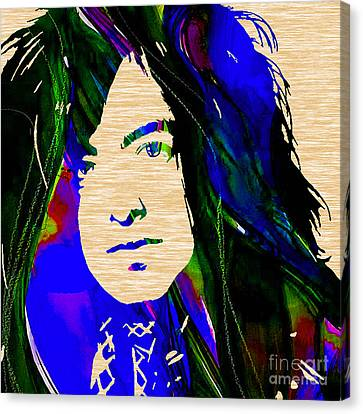 Jimmy Page Collection Canvas Print