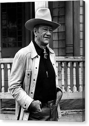 John Wayne Canvas Print by Retro Images Archive