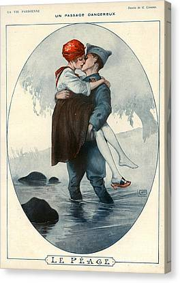 La Vie Parisienne 1918 1910s France Canvas Print by The Advertising Archives
