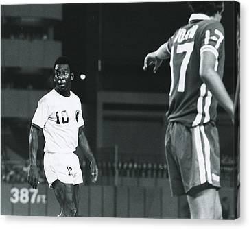 Pele Canvas Print - Pele by Retro Images Archive