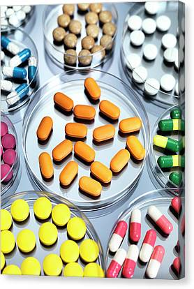 Pharmaceutical Research Canvas Print