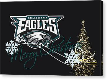 Player Canvas Print - Philadelphia Eagles by Joe Hamilton