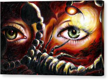 12 Signs Series Scorpio Canvas Print by Hiroko Sakai