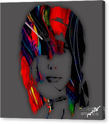 Steven Tyler Collection Canvas Print