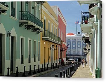 Usa, Puerto Rico, San Juan Canvas Print