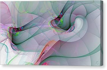 Generative Canvas Print - 1247 by Lar Matre
