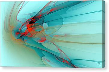 Generative Art Canvas Print - 1256 by Lar Matre