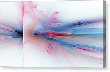 Generative Canvas Print - 1258 by Lar Matre