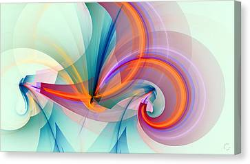 Abstract Art Canvas Print - 1260 by Lar Matre