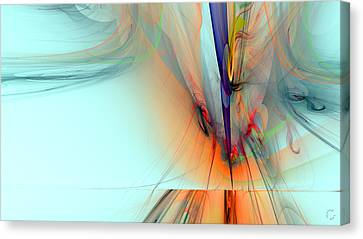 Generative Canvas Print - 1262 by Lar Matre