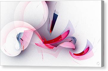 Generative Canvas Print - 1264 by Lar Matre