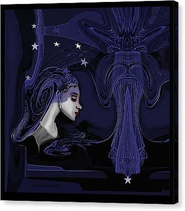 128 - Melancholia ... Canvas Print
