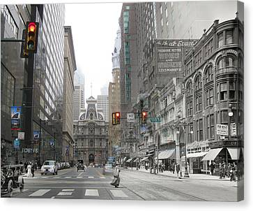 12th And Market Street Canvas Print