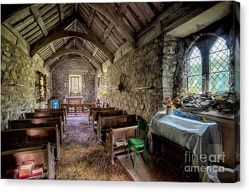 12th Century Chapel Canvas Print by Adrian Evans