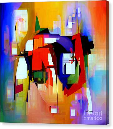 Abstract Series Iv Canvas Print by Rafael Salazar