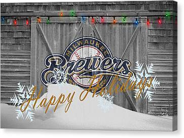 Milwaukee Brewers Canvas Print