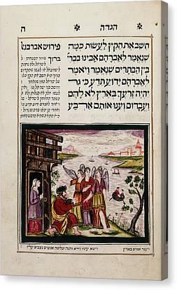 Passover Haggadah Canvas Print by British Library