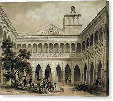 Perez Villaamil, Jenaro 1807-1854 Canvas Print