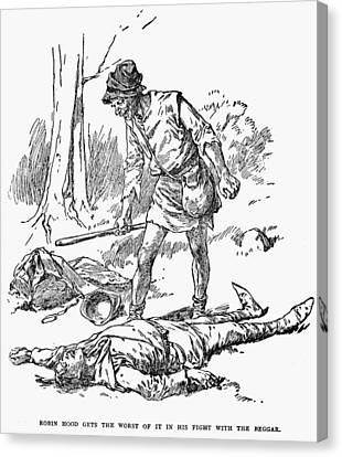 Robin Hood Canvas Print by Granger