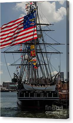 Canvas Print featuring the photograph 13 Stars by Mike Ste Marie