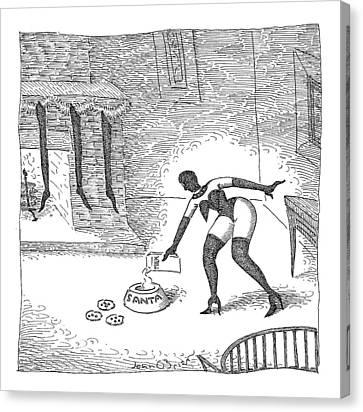 New Yorker December 25th, 2006 Canvas Print by John O'Brien