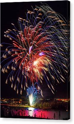 Usa, Colorado, Frisco, Dillon Reservoir Canvas Print by Jaynes Gallery