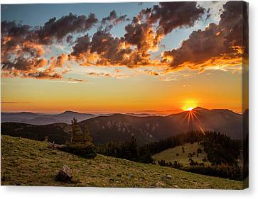Usa, Colorado, Mt Canvas Print