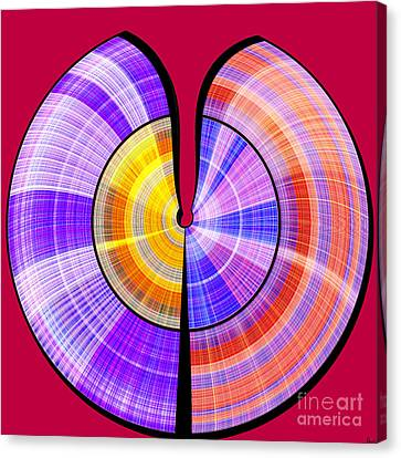 1330 Abstract Thought Canvas Print