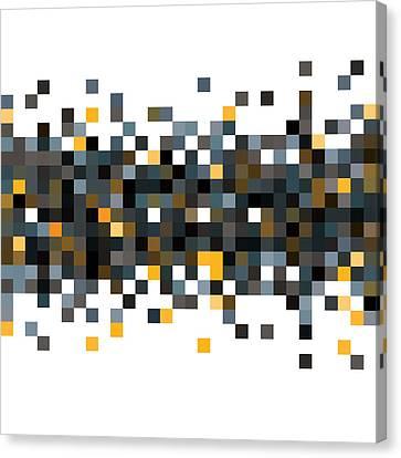 Pixel Art Canvas Print