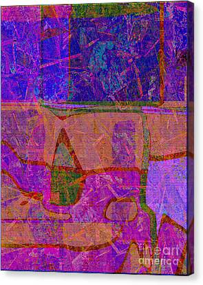 1381 Abstract Thought Canvas Print